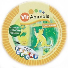 ВитЭнималс консервы для кошек Цыпленок 125гр. (55196)