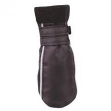Обувь черная с  белыми полосками по бокам