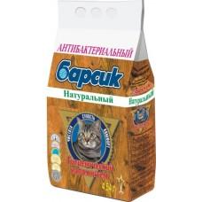 Барсик Натуральный Наполнитель для кошачьего туалета древесный 4,54л. (12099)