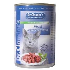 Dr. Clauder's консервы для кошек лосось 415 гр. (11467)