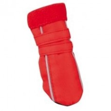 Обувь красная с  белыми полосками по бокам, размер 1# (4х3х7см) - 5635391