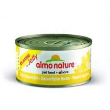 Almo Nature Classic консервы для кошек Императорский цыпленок 70гр. (24545)