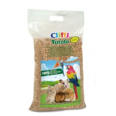 """Cliffi Кукурузный наполнитель """"Цитрус"""" для грызунов: 100% органик (Tutolo) 8л-4.5кг"""