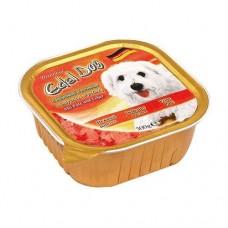 Edel Dog Консервы для собак Нежный паштет индейка с печенью, 0.3кг. (10177)