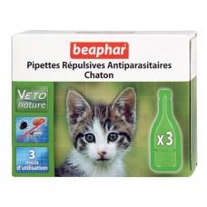 Beaphar Капли Био от блох для котят 3 пипетки (20187)