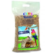 Cliffi Кукурузный наполнитель для грызунов: 100% органик (Tutolo Naturale)