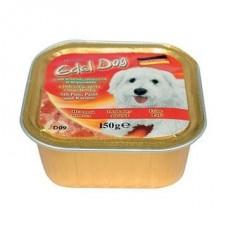 Edel Dog Консервы для собак Нежный паштет индейка и спагетти, 0.3кг. (10149)