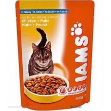 Ямс Паучи для кошек с курицей (Cat Pouch rich in Chicken) Cat Pouch rich in Chicken, 100гр. (05805)