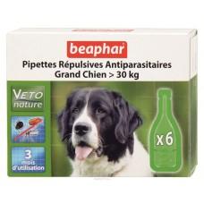Beaphar Капли Био от блох для собак крупных пород, 6 пипеток (18354)
