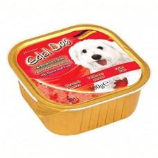 Edel Dog Консервы для собак Нежный паштет с курицей и уткой, 0.3кг. (10151)