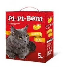 Pi-Pi-Bent Bananas Наполнитель комкующийся 5кг (крафт пакет) (C41823/00830)