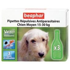 Beaphar Капли Био от блох для собак средних пород 3 пипетки (18356)