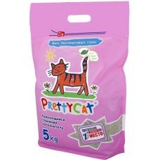 Pretty Cat  Euro Mix Комкующийся глиняный наполнитель