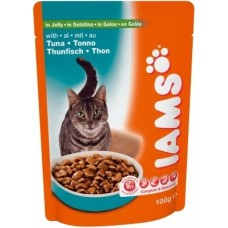 Ямс Паучи для кошек с тунцом (Cat Pouch Adult with Tuna), 100гр. (05798)
