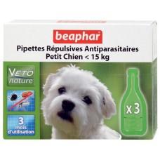 Beaphar Капли Био от блох для собак мелких пород, 3 пипетки (18355)