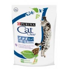 Cat Chow Special Care 3 in 1 Пурина Кэт Чау для взрослых кошек тройной лечебный эффект