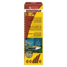 Сера Omnipur средство широкого спектра действия - одновременная борьба с эктопаразитами, бактриальными и грибковыми инфекциями 50мл*1000л (2170)