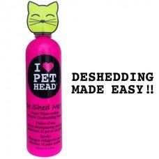 """Pet Head Кондиционер Арбузный """"Чудо-Линька"""" для линяющих Кошек с кокосовым маслом, без сульфатов и парабенов (DE SHED ME for Cats) (50448)"""