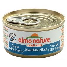 Almo Nature Adult консервы для кошек с атлантическим Тунцом 140гр. (21032)