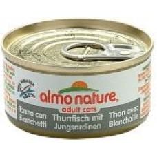 Almo Nature Adult консервы для кошек с Тунцом и Сардинками 140гр. (20523)