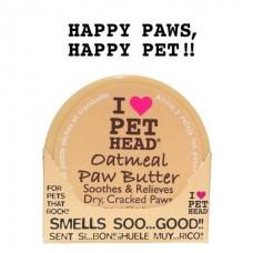 Pet Head Масло для потрескавшихся Лап с маслами ши, овсянки, жожоба, кокоса, оливок и алоэ вера (OATMEAL Natural Paw Butter) (50454)