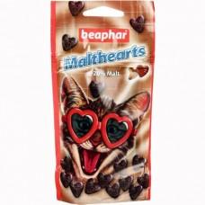 Beaphar Malthearts для кошек Сердечки для вывода шерсти из желудка, 150шт. (12930)