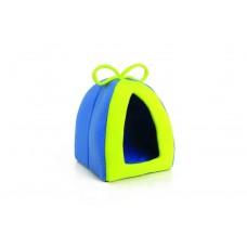 Beeztees Домик-тент для грызунов сине-зеленый