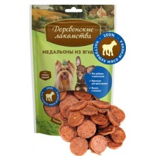 Деревенские лакомства для собак мини-пород Медальоны из ягненка 55 гр (79711519)