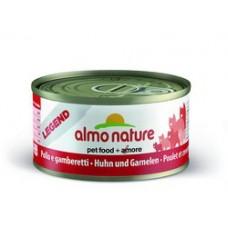 Almo Nature Classic консервы для кошек с Курицей и Тыквой 140гр. (20530)