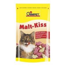 Gimpet Malt-Kiss витамины для кошек для вывода шерсти из желудка, 65 шт. (407494)