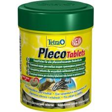 Тетра 199217 Tetra Pleco Корм для травоядных донных рыб со спирулиной 120 таб (15787)