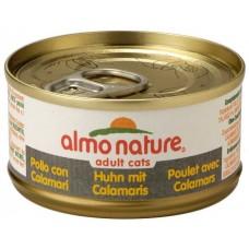 Almo Nature Classic консервы для кошек с Курицей и Креветками 140гр. (24842)