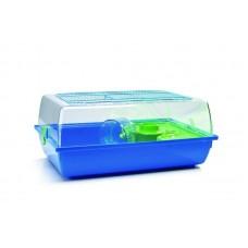 Beeztees Alex Клетка для хомяков серо-синяя, 58*38*25см. (266810)