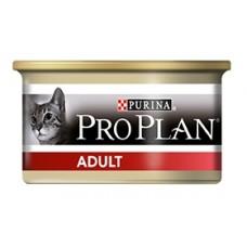 Pro Plan ADULT консервы взрослых для кошек, паштет с курицей, 85гр. (21326)