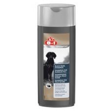 """8 в 1 Шампунь """"Черный жемчуг"""" для собак темных окрасов, 250мл. (101659)"""
