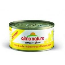 Almo Nature Classic консервы для кошек Куриная грудка