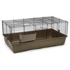 Beeztees Baldo Клетка для кролика коричневая 100*53*46см (266890)