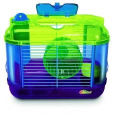 Beeztees Mini Клетка для грызунов с игровым комплексом, 32*20*24см. (285002)