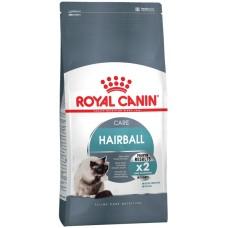 Royal Canin HAIRBALL CARE для взрослых кошек в целях профилактики образования волосяных комочков ЖКТ