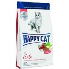 Хэппи Кэт корм для взрослых кошек утка