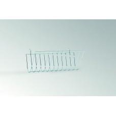Beeztees Кормушка металлическая хромированная подвесная U-форма, 12*26см. (810552)