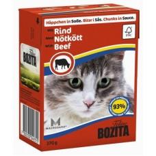 Bozita Feline Beef Кусочки в соусе с Говядиной, 370 гр. (P22724)