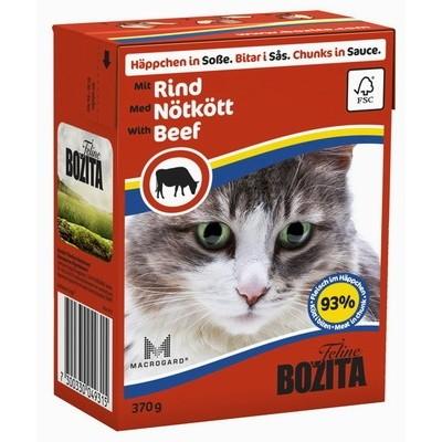 Bozita Feline Beef кусочки в соусе с Говядиной, 370 гр. (4931)
