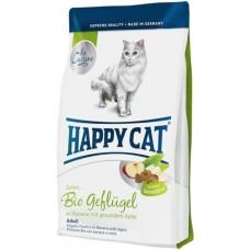 Хэппи Кэт корм для взрослых кошек Био-птица
