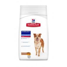 Hill's Science Plan MATURE ADULT 7+ MEDIUM корм для собак мелких и средних пород старше 7 лет с ягненком и рисом