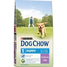 Dog Chow сухой корм для щенков с ягненком (Puppy&Junior Lamb)