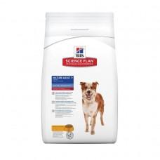 Hill's Science Plan MATURE ADULT 7+ MEDIUM корм для собак мелких и средних пород старше 7 лет с курицей 12кг (P11236)