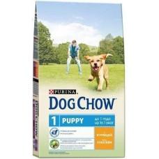 Dog Chow сухой корм для щенков с курицей (Puppy&Junior)
