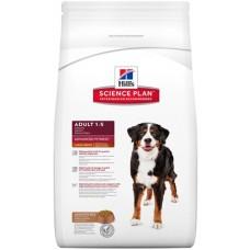 Hill's Science Plan ADULT LARGE BREED корм для взрослых собак крупных пород для поддержания здоровья суставов и мышечной массы, с ягненком и рисом, 12кг (P11207)