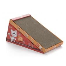 Beeztees Когтеточка-горка с кошачьей мятой 46*23*4 см (405230)